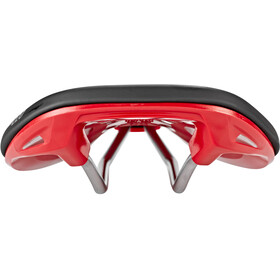 Spank Oozy 220 Selle Homme, black/red